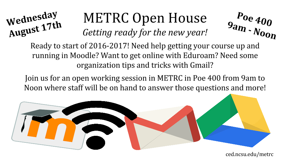August 17th Open House