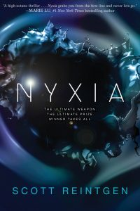 """""""Nyxia"""" book cover"""