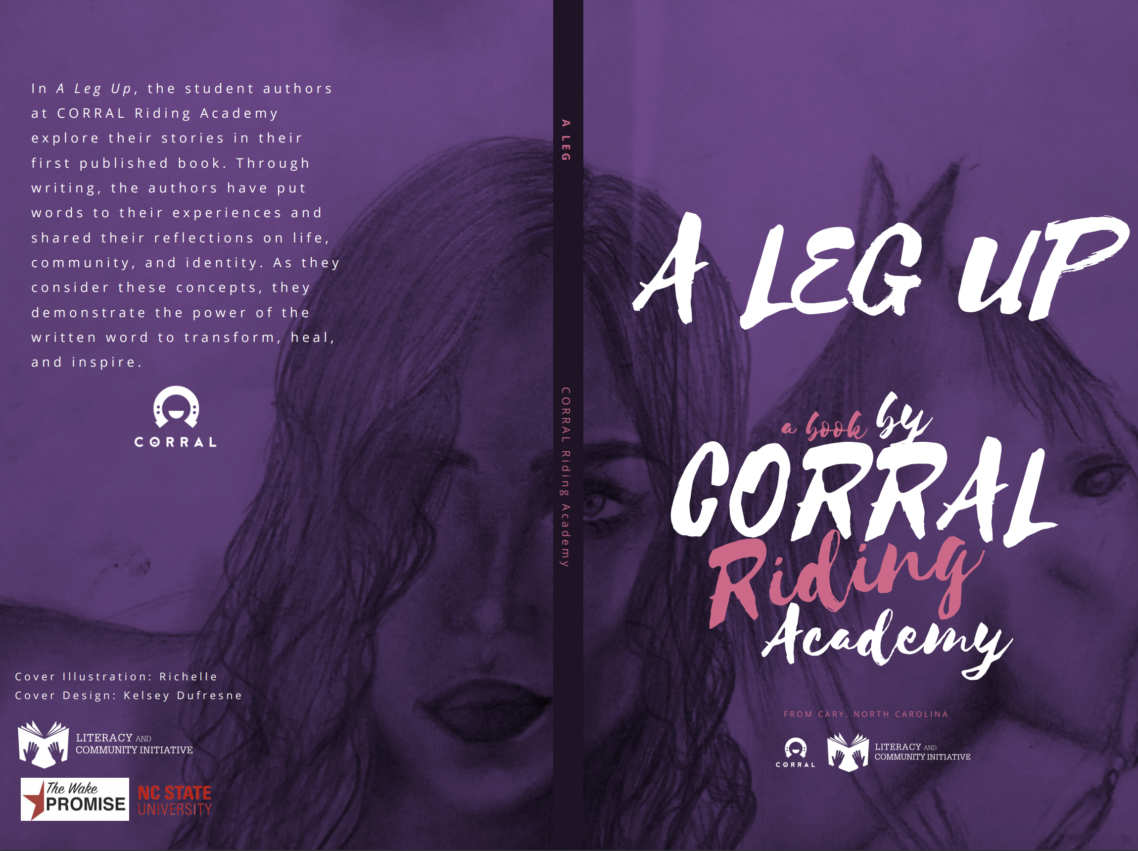 """Cover Art for the book """"For a Leg Up"""""""