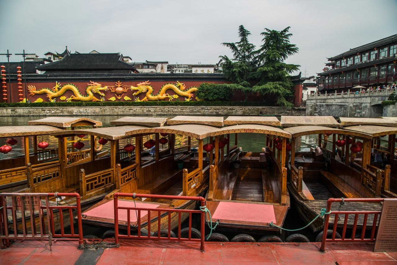 Art and Boats in China