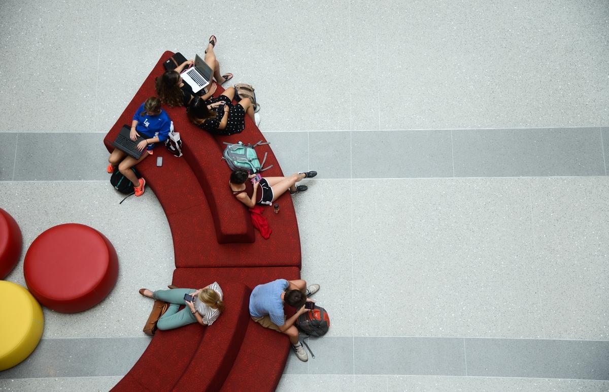 Students at Talley