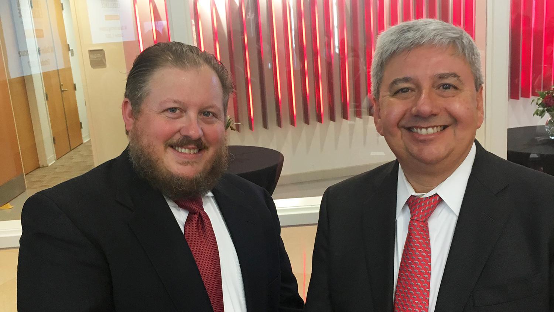 Photo of Program Leaders Bartlett and Garcia