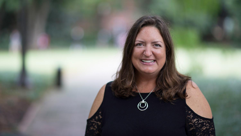 A photo of associate teaching professor Angie Smith