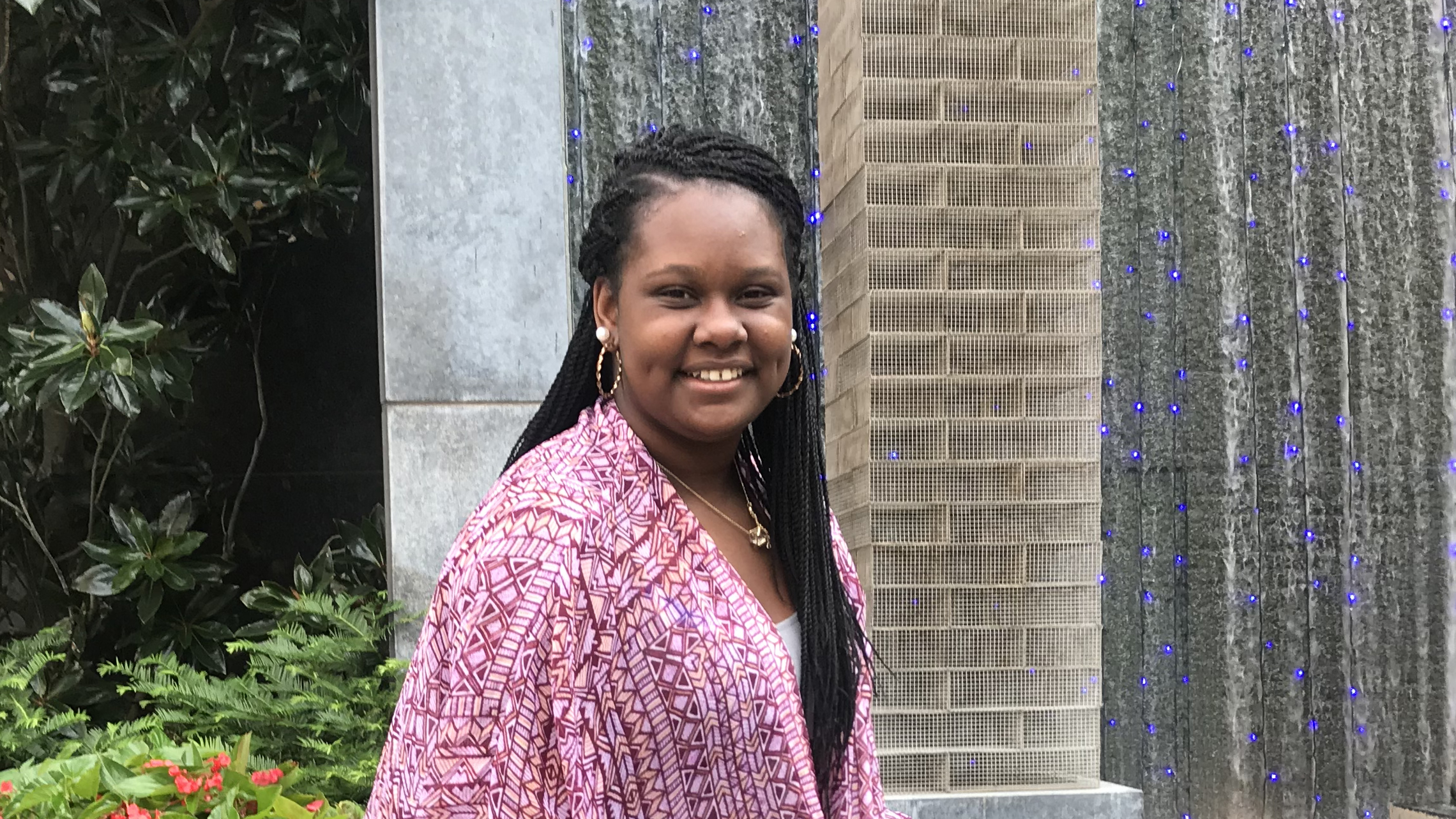 A photo of Kay Stumpter, a member of the NC State College of Education Class of 2022
