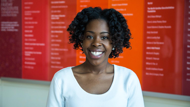 Photo of graduate student Briana Green