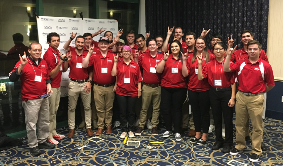 A group photo of NC State Education's TEECA student chapter