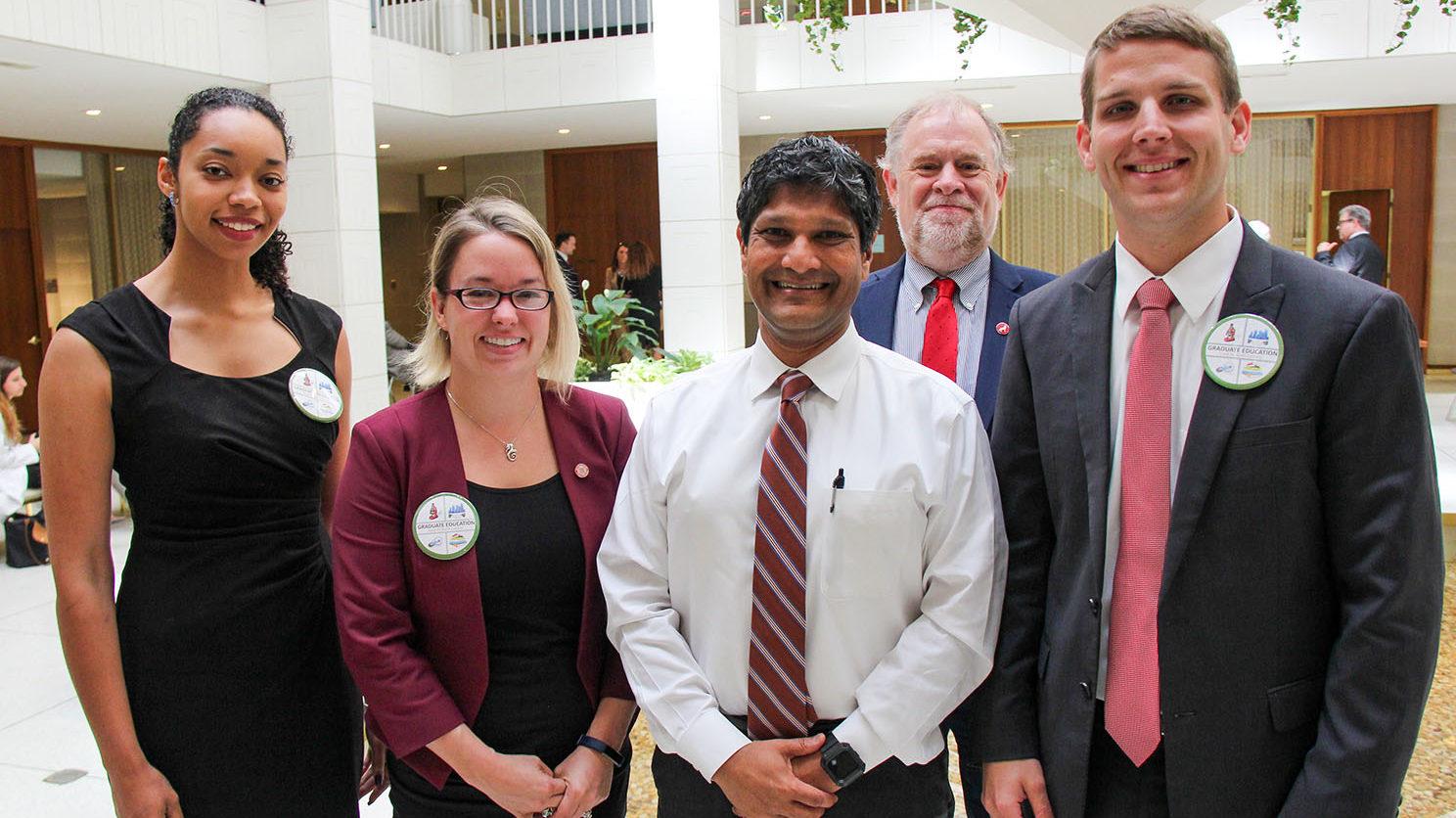 group at the legislature