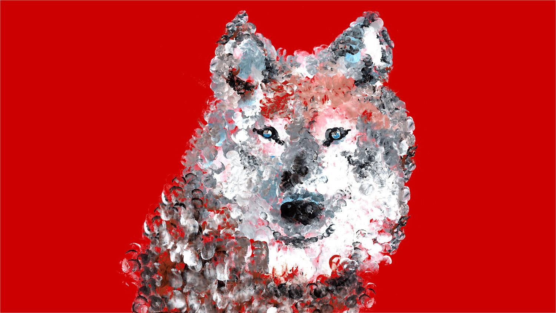 EdTalks Wolf Graphic