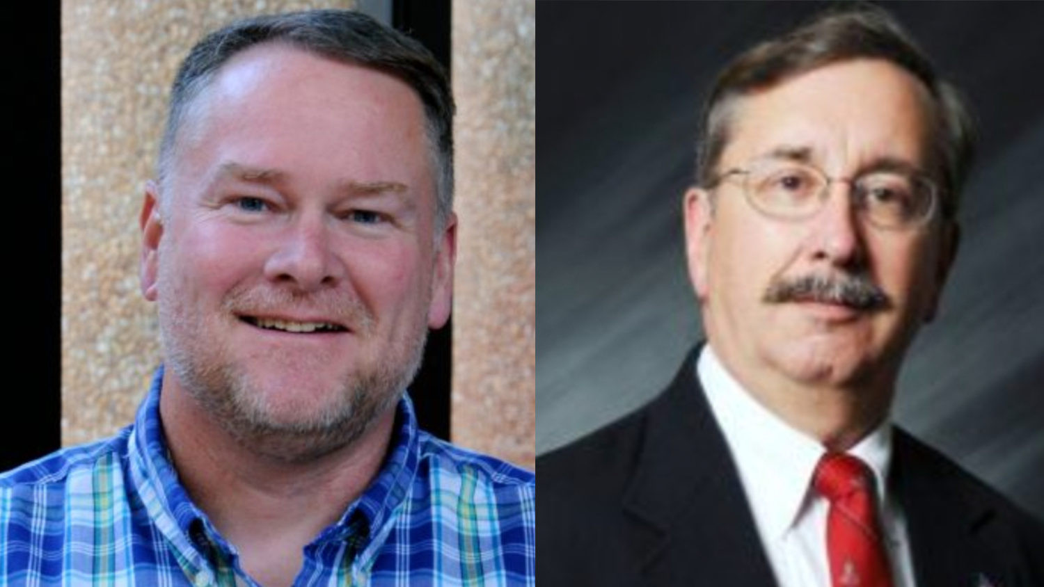 Professor Kevin Oliver and Teaching Assistant Professor Parks Newby