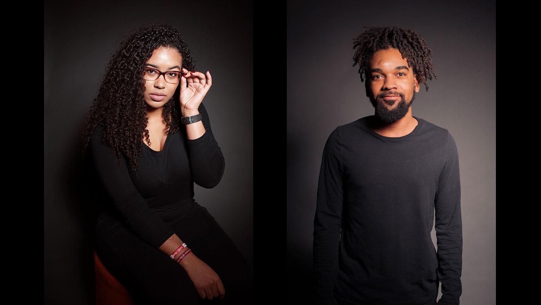 Miyah Wilson and John Pierre Craig