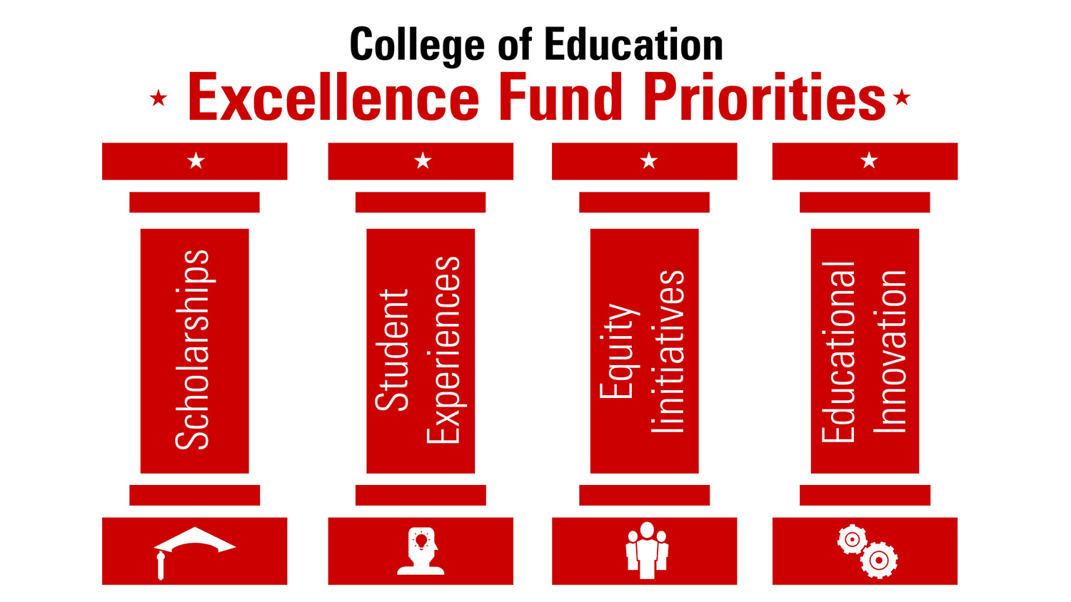 Excellence Fund Pillars