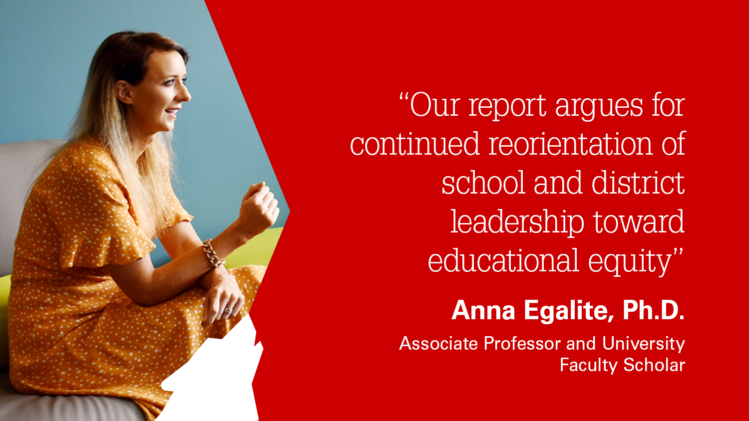 NC State College of Education Assoiate Professor Anna Egalite on the Wallace Foundation report she co-authored
