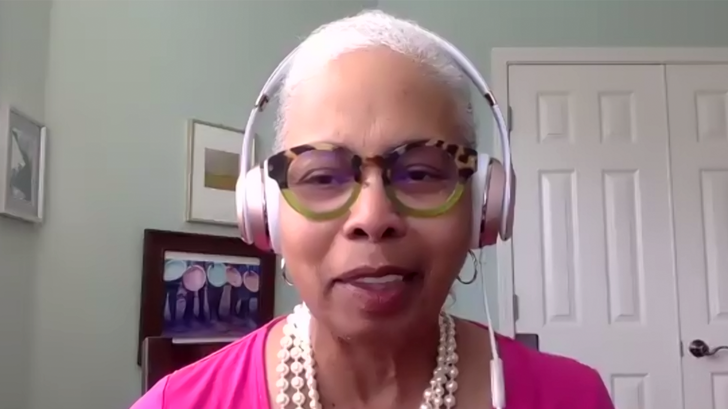 Gloria Ladson-Billings delivered the keynote address at the NC State College of Education's Don C. Locke Symposium on March 24, 2021