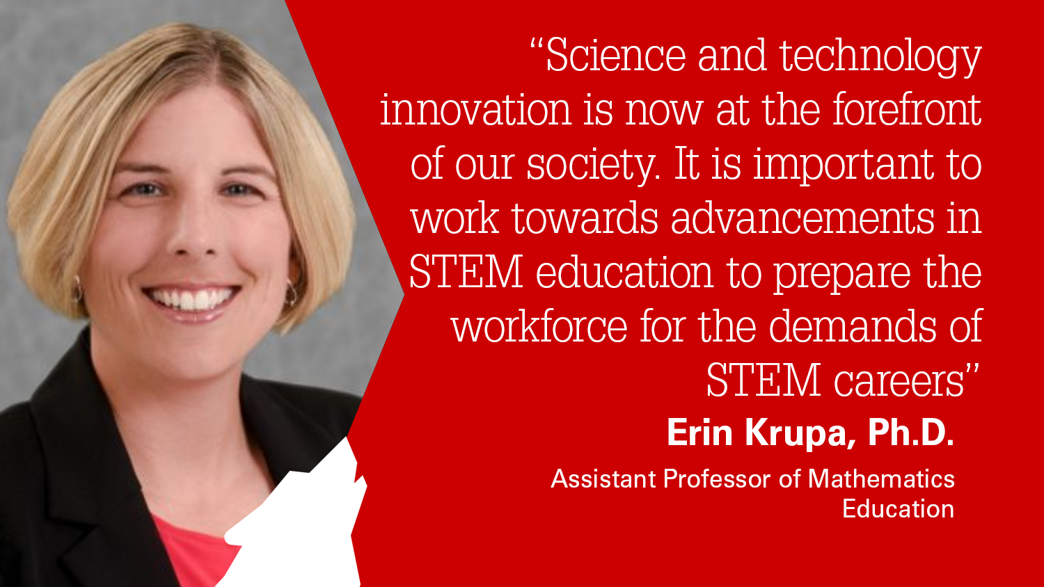 NC State College of Education Assistant Professor Erin Krupa