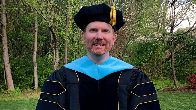 NC State College of Education graduate Jonathan Loss '21EDD