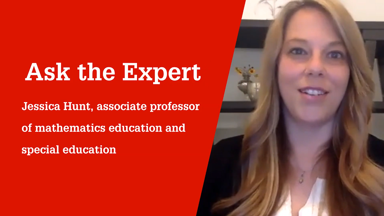 NC State College of Education Associate Professor Jessica Hunt, Ph.D., talks about teaching from a strengths-based perspective