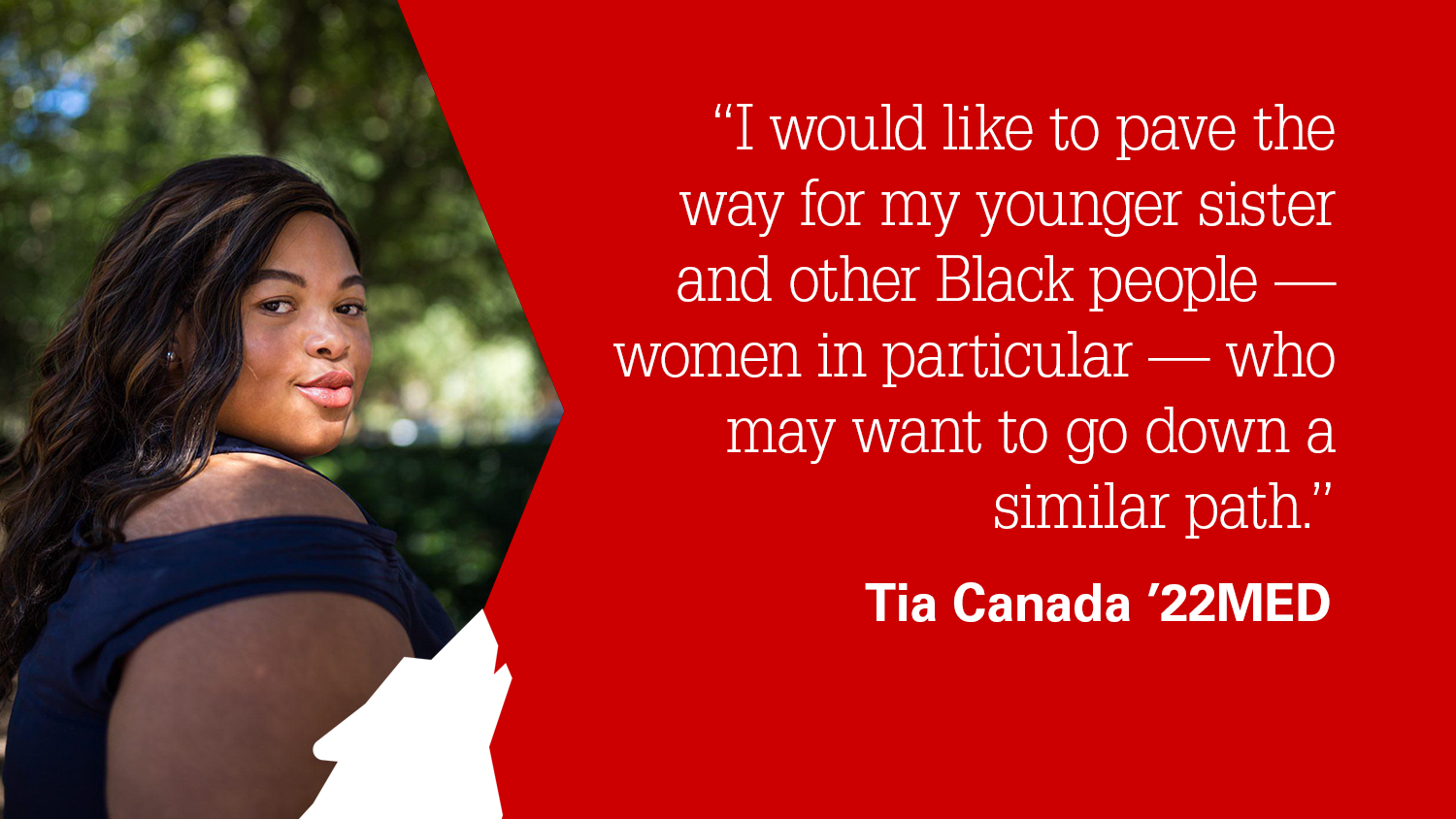 NC State College of Education Graduate Student Tia Canada '22MED