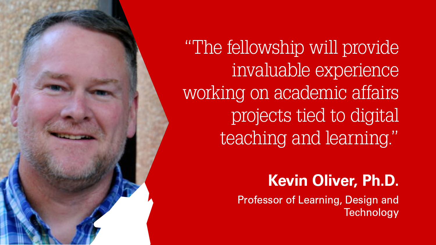 NC State College of Education Professor Kevin Oliver, Ph.D.