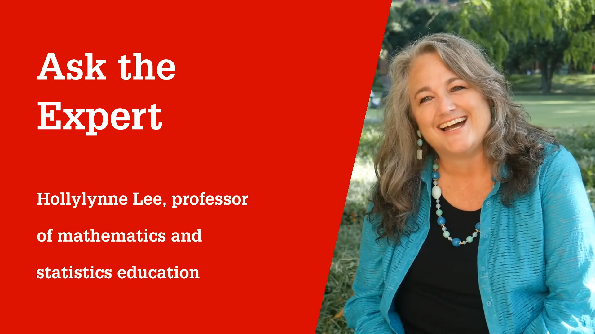 NC State College of Education Professor Hollylynne Lee, Ph.D.