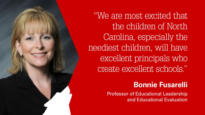 NC State College of Education Professor Bonnie Fusarelli
