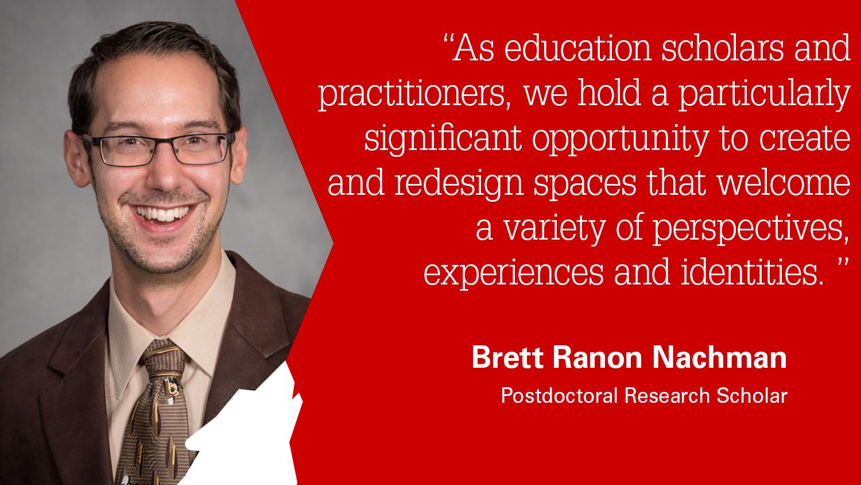 Belk Center Postdoctoral Scholar Brett Ranon Nachman