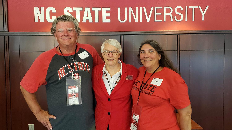 Jerry and Diane Cunningham Mary Ann Danowitz
