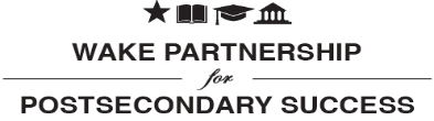 Wake Partnership for Postsecondary Success logo