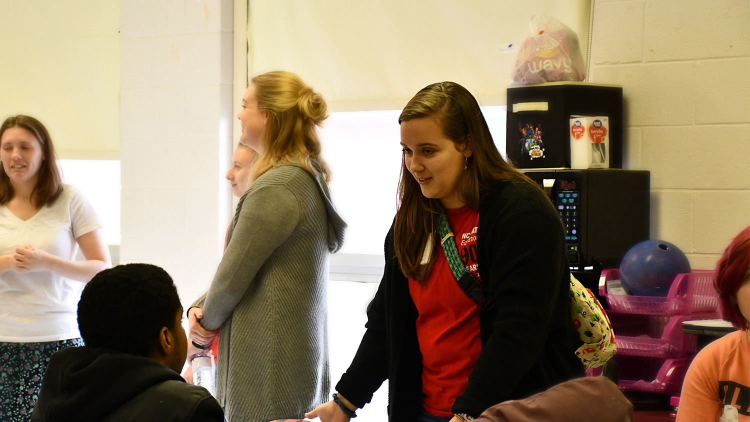 College of Education students serving in underserved areas.
