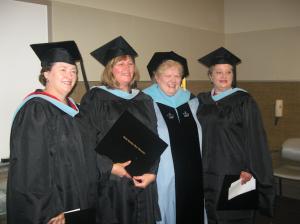 Dr. Pamela Earp, Dr. Susan Smith Braithwaite, Dr. Colleen Allsburg Wiessner, Dr. Twyla Casey Wells.
