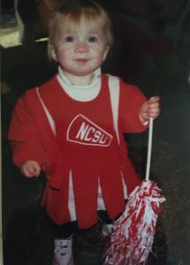 Ashley age 4.