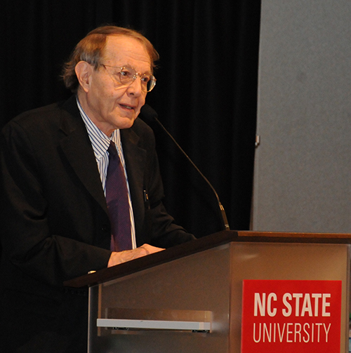 Kozol at Podium