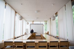 A conference room at the University of Jyväskylä.