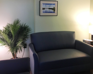 A counseling room at CCERC.