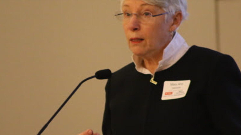 Dean Mary Ann Danowitz at Action Summit 2017