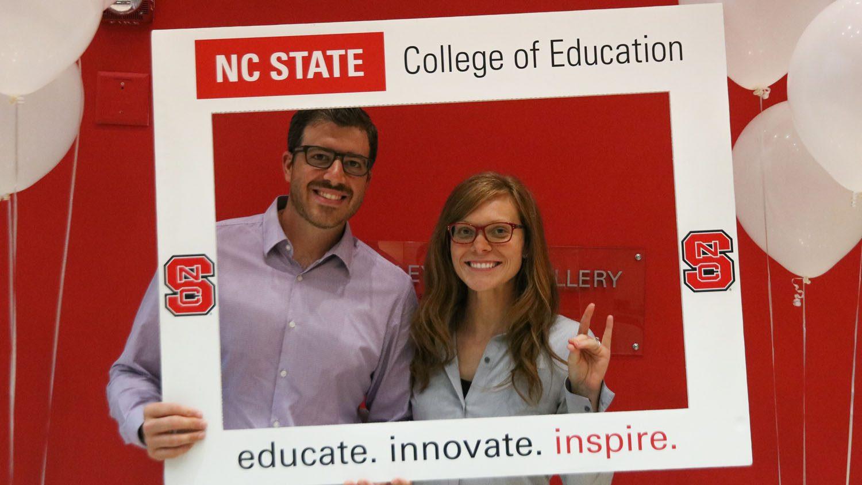 Golden Apple Future Teacher Award winner Lauren Slenker