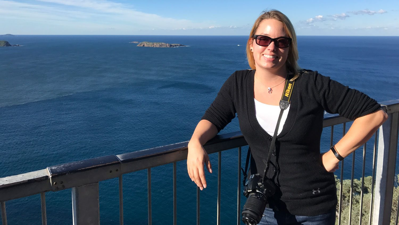 STEM Ed Ph.D. student Megan Ennes