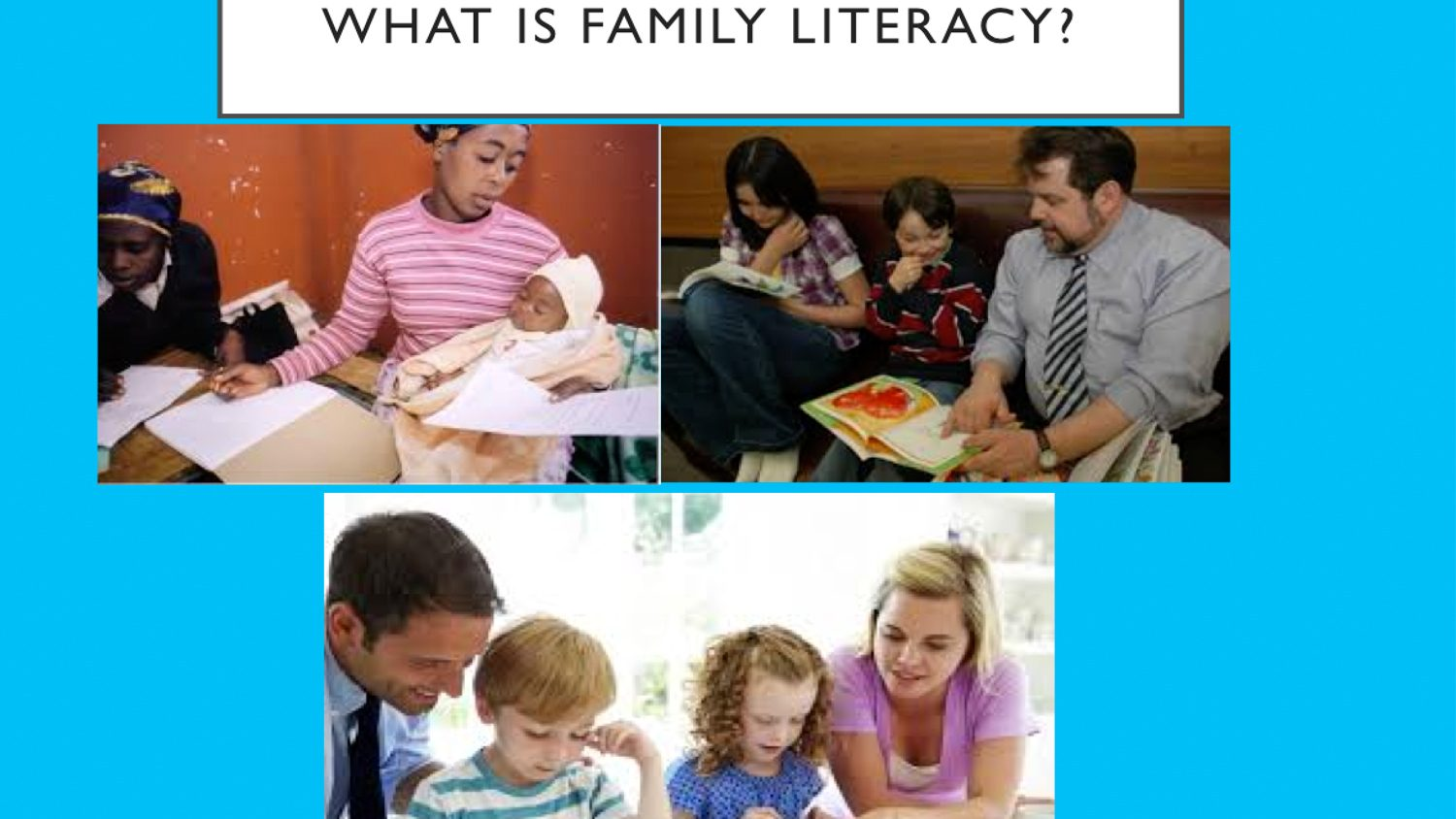Angela Wiseman, Ph.D. | Reconceptualizing Family Literacy
