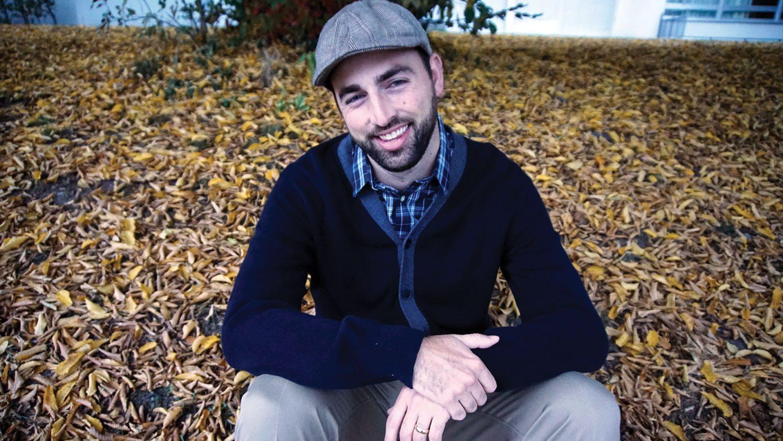 College of Education alumnus and author Scott Reintgen. Photo credit: Katie Reintgen.