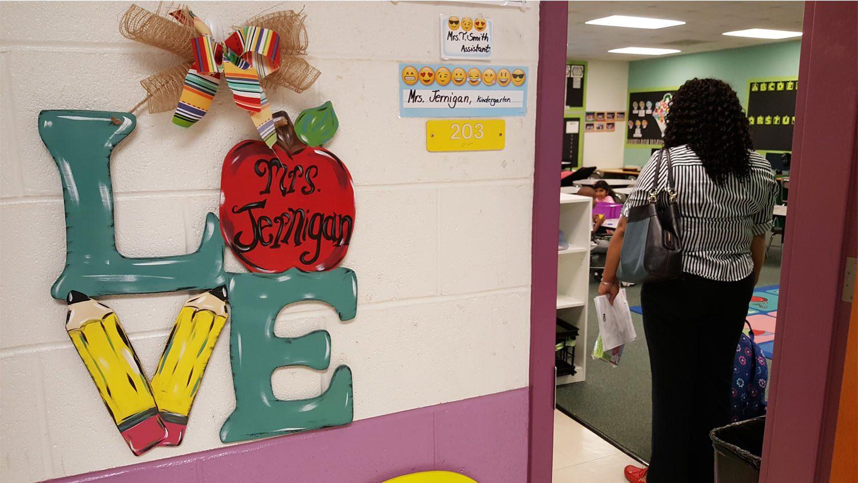 Wayne County Public School Classroom