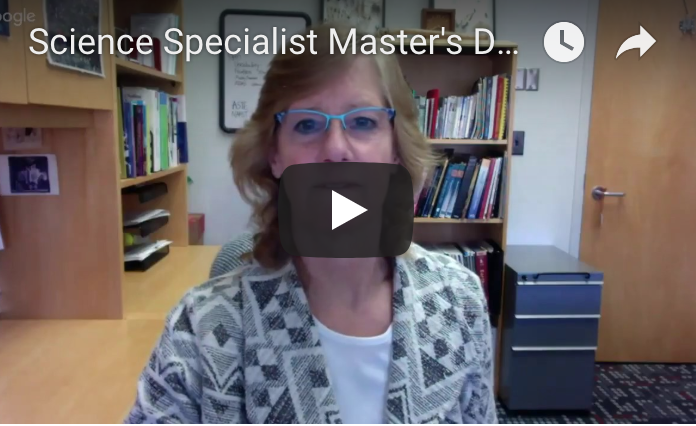 Dr. Sarah Carrier leading virtual info session