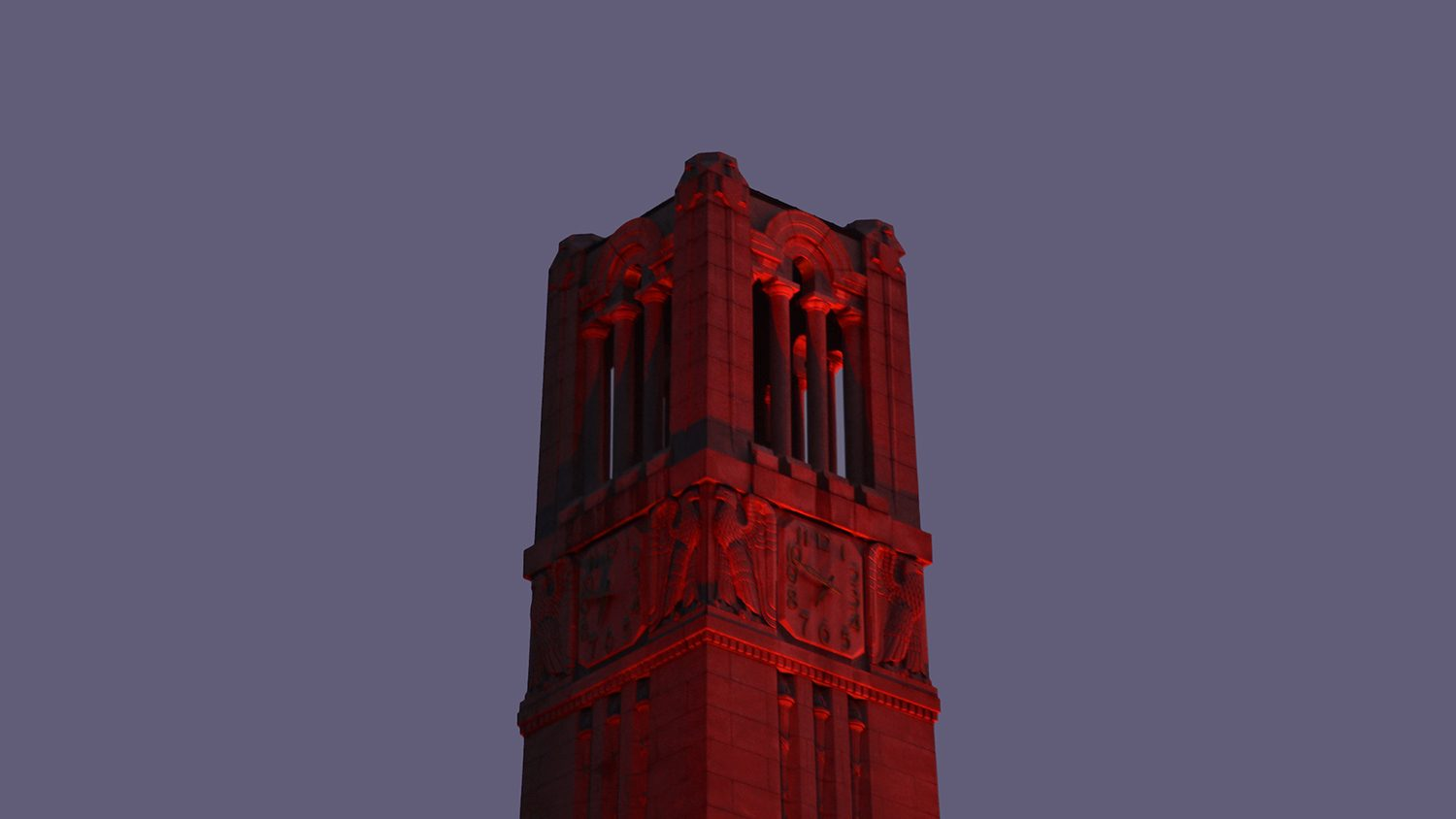 Red Belltower at dawn