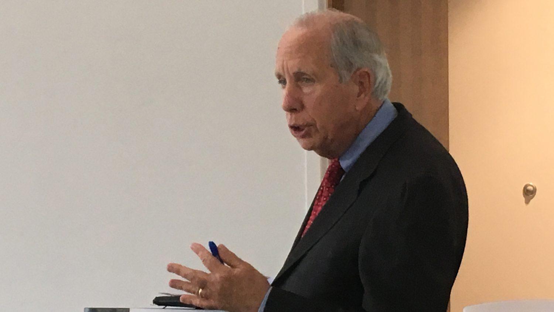 A photo of Dr. Robert Templin