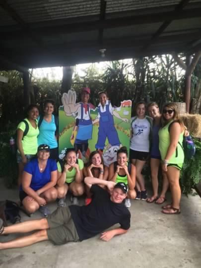 A photo of Caroline Alexander's class