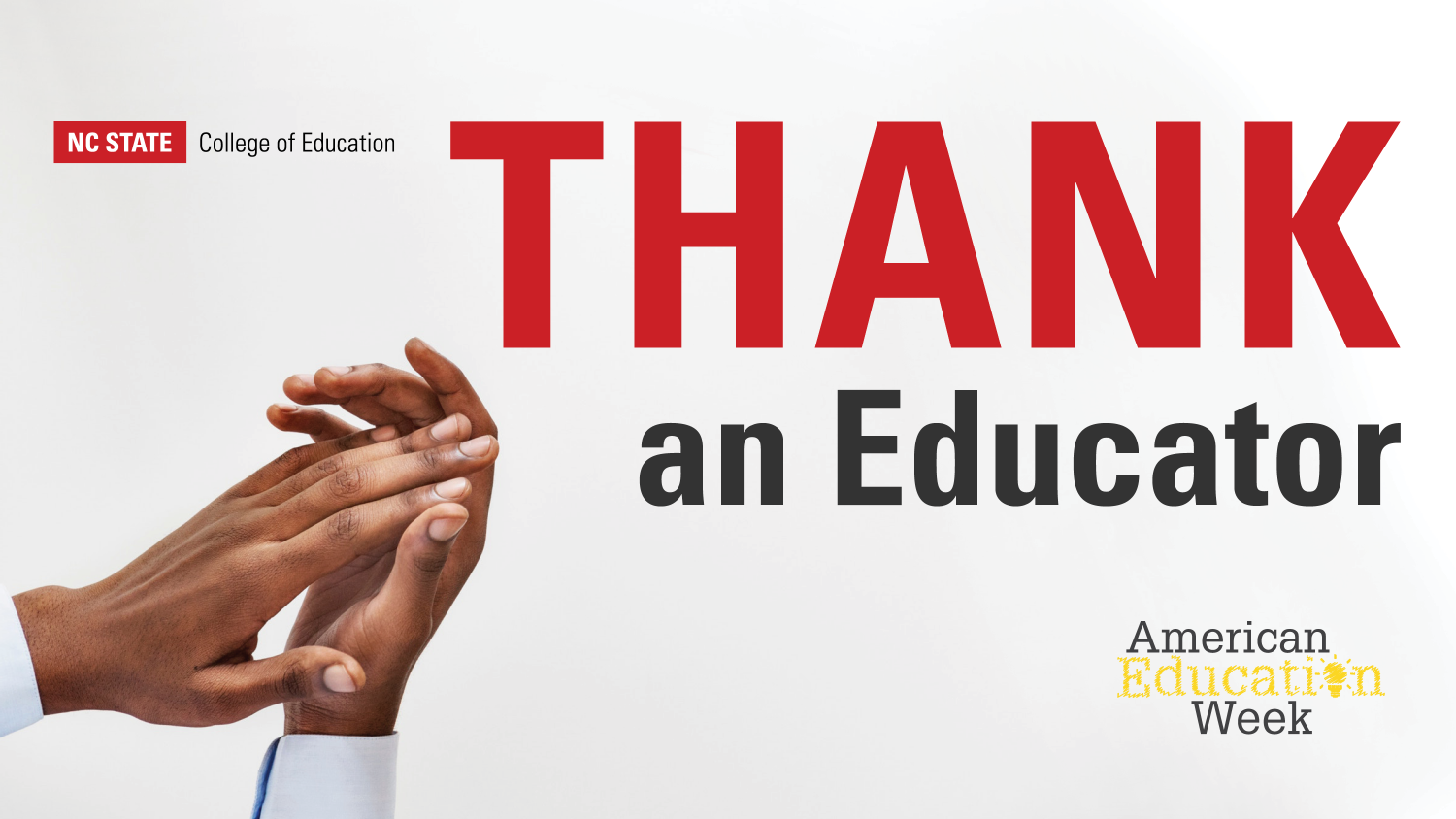 Thank An Educator Graphic