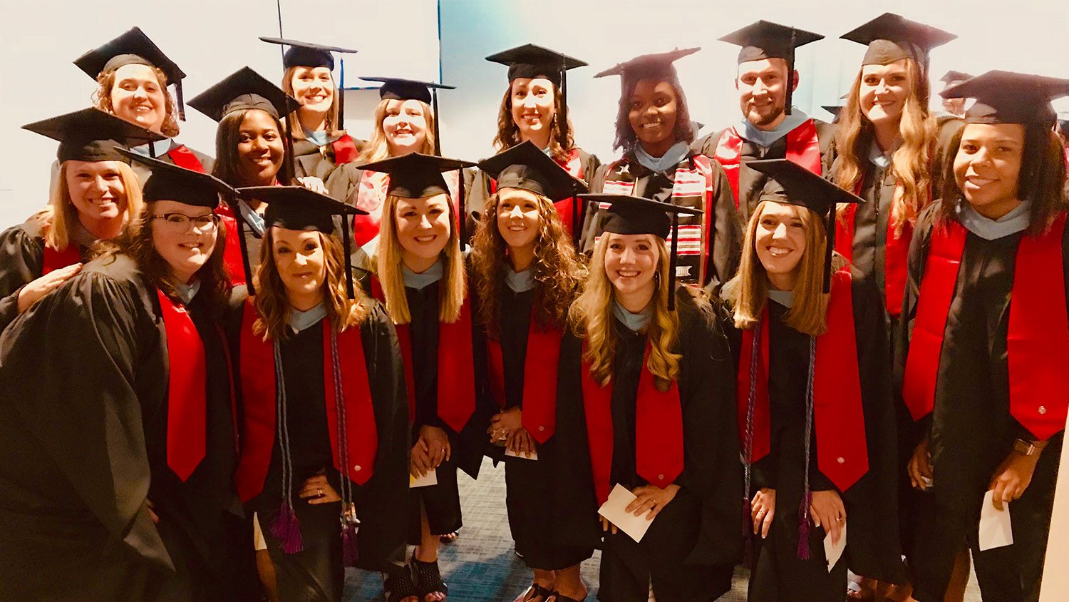 Group of third literacy cohorts who graduated in May 2019.