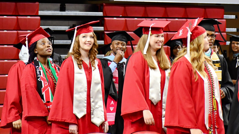 A photo of graduates