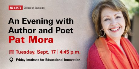 An Evening with Pat Mora