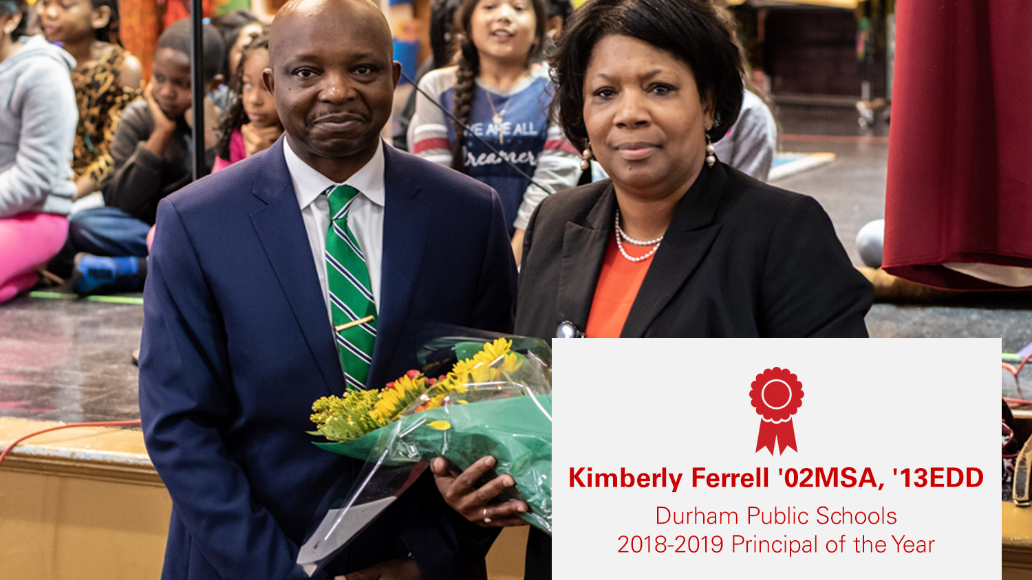 Kimberly Ferrell, 2018-19 Durham County Principal of the Year