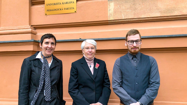 Dean Danowitz Visits NC State Prague