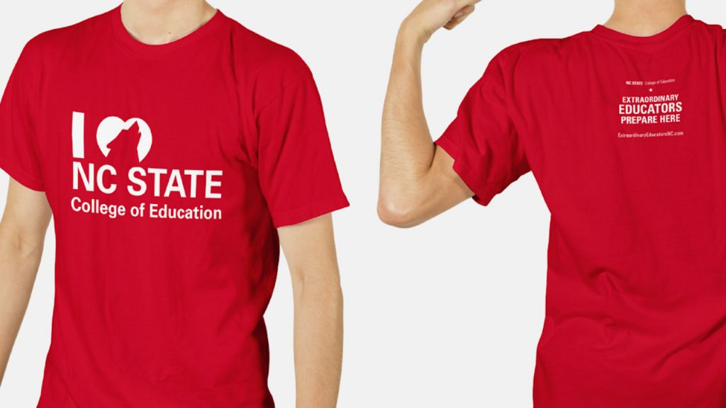 NCState College of Education T-shirt